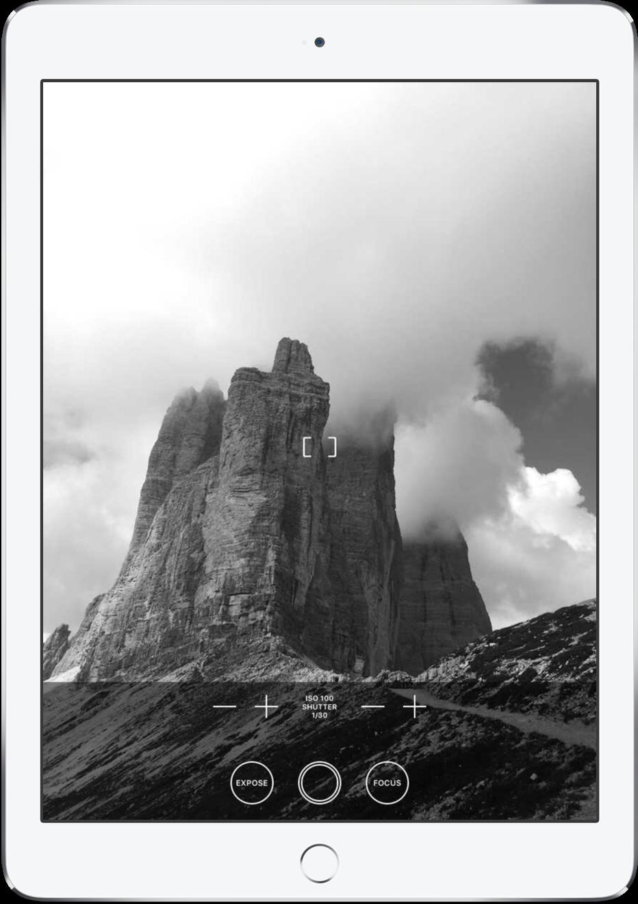 Obscura Camera iPad 1