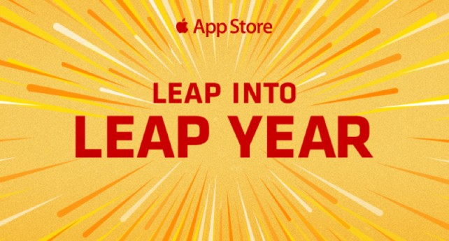 Apple helps us celebrate Leap Day with 5 free apps