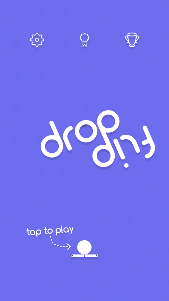 Plunge and spin to the goal in Drop Flip, a physics puzzler