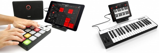 SampleTank - iRig MIDI accessories