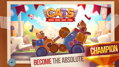 photo image See Hilarious Battles Ensue in CATS: Crash Arena Turbo Stars