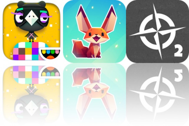 photo image Today's Apps Gone Free: Toca Blocks, The Little Fox and Waypoint
