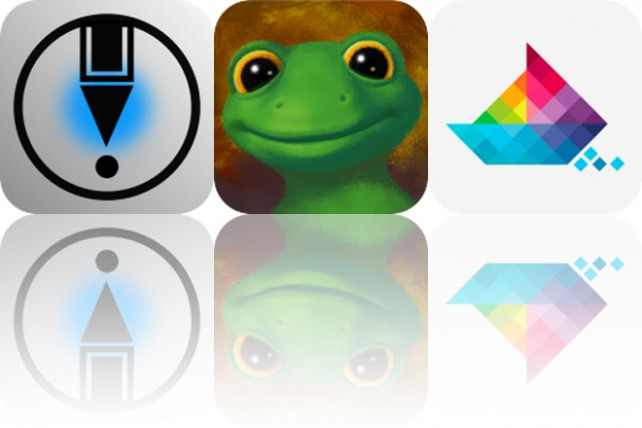 Today's Apps Gone Free: LetSketch, Lazy Larry Lizard and Sea of Squares