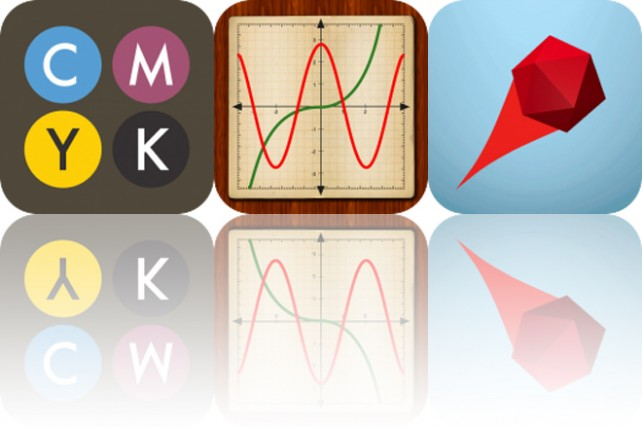 photo image Today's Apps Gone Free: CMYK, My Graphing Calculator and Deflecto