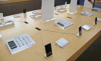 Apple Showcasing Software On Demo Units