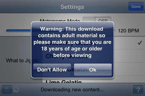 Want Objectionable Content On Your iPhone? Import It!