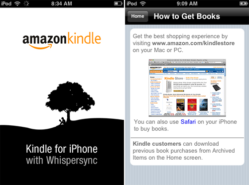 Kindle For iPhone Is Now Available