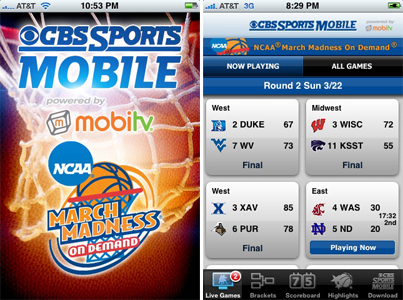 Stream March Madness Live On Your iPhone