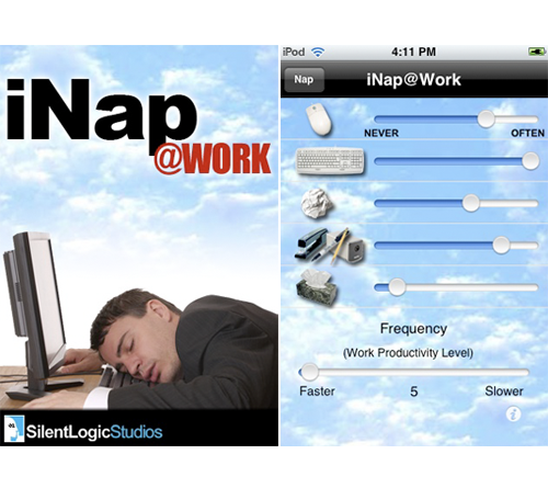 iPhone App Allows You To Nap At Work, Worry Free