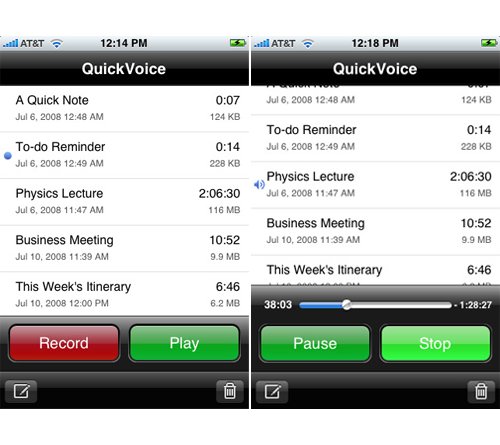 QuickVoice Pro Recorder - Record And Send Voice Messages, Includes Bonus Software