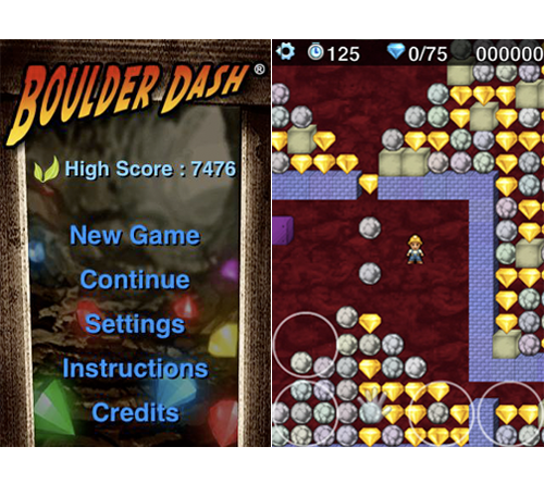 Chillingo Releases Boulder Dash For iPhone, Update Imminent