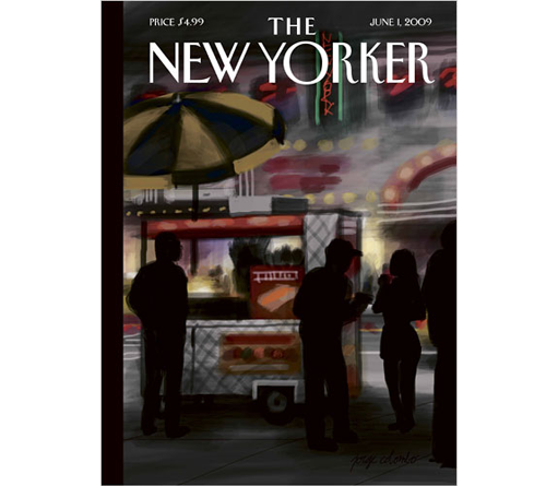 The New Yorker Cover Art Was Created On An iPhone