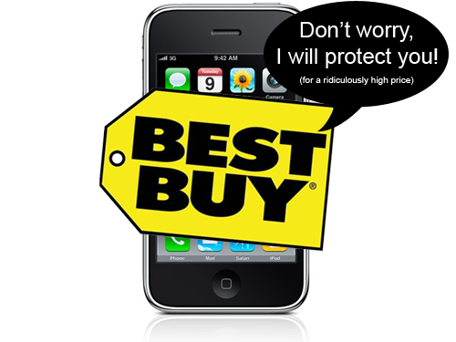 Best Buy Will Protect Your New iPhone 3G S