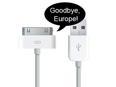 Apple Agrees To Adopt Micro-USB Phone Charger In Europe