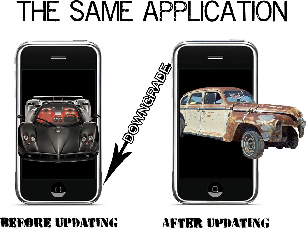 How-To: Downgrade An Application