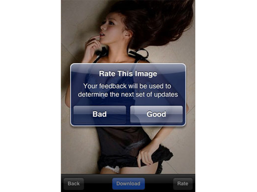 "Hottest Girls - First iPhone App With Nudity Now ""Sold Out"""