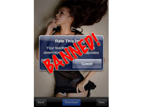 Apple Removed Hottest Girls, Nudity Not Allowed In App Store