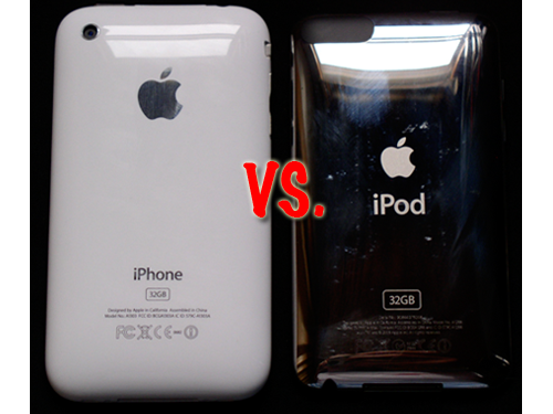 iPhone 3G S Vs. 2G iPod Touch - Fight!