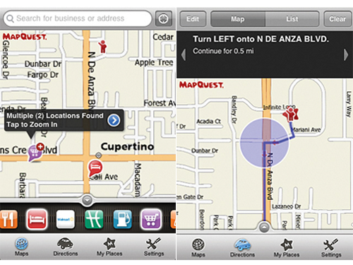 MapQuest 4 Mobile - You Now Have More Mapping Options