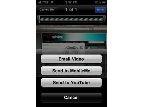 YouTube Daily Mobile Video Uploads Increase 400% Thanks To iPhone 3GS