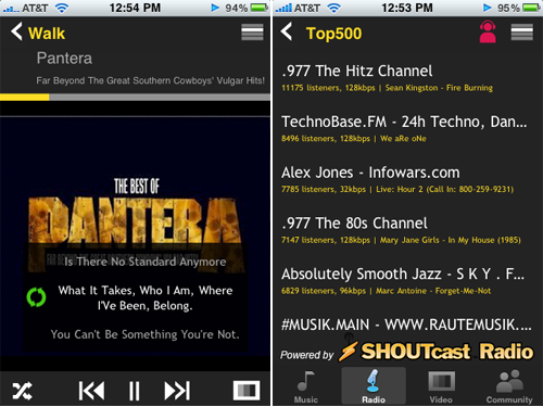 TuneWiki - Popular Jailbroken iPhone Music App Now Available In App Store