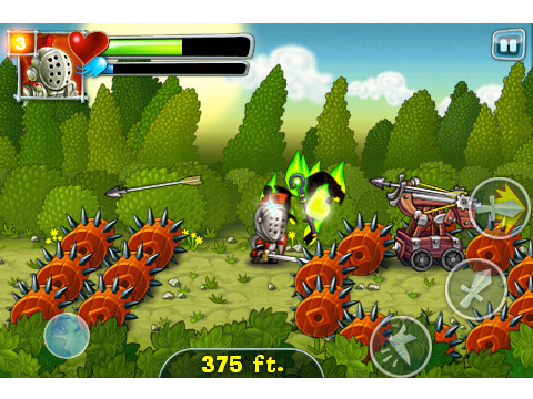 A Quest Of Knights Onrush - Chillingo's Free Promotional Game Hits App Store