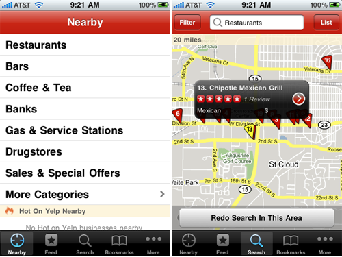 Yelp Gets Thrifty - Now You Can Find Happy Hours, BOGOs, And Other Deals Near You