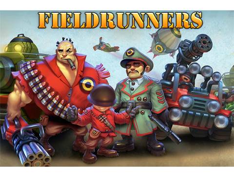 Fieldrunners Updated For The First Time In Nine Months, Now Features In-App Content