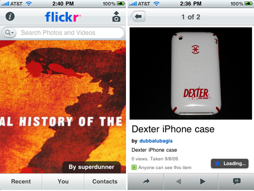 Official Apps Are Always Better, Right? Flickr Finally Releases Official iPhone App