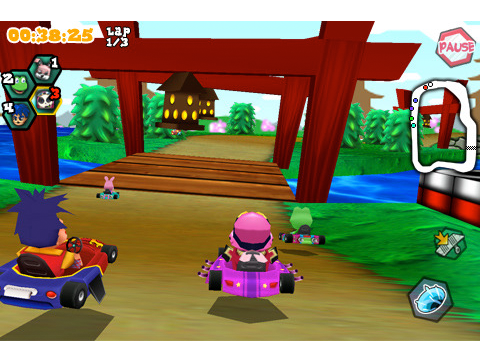 iPhone's Mario Kart? Krazy Kart Racers Speeds Into The App Store