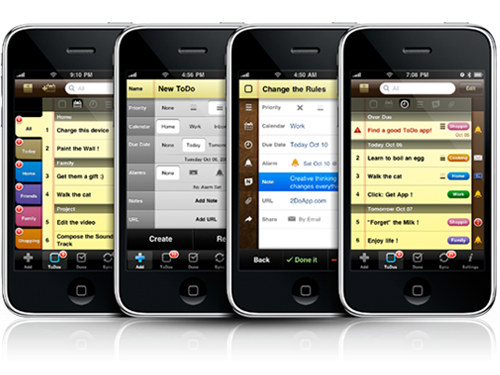 Awards 2009 Best User Interface Winner Releases iPhone To-Do App