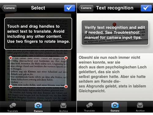 Forget About Typing, Babelshot Translates Text Using Your iPhone's Camera