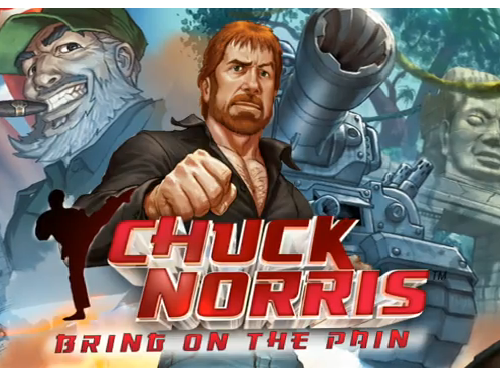 Gameloft Teases New Chuck Norris iPhone Game, Let The Chuck Norris-isms Begin!