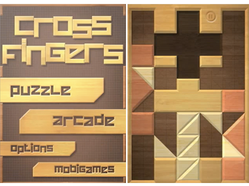 Cross Fingers In Mobigame's Upcoming Multi-Touch iPhone Puzzle Game