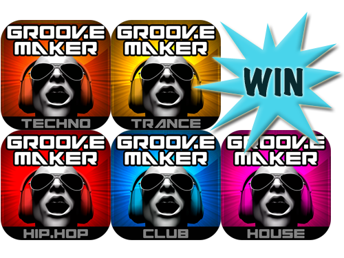 Our Five GrooveMaker Download Code Winners Are...