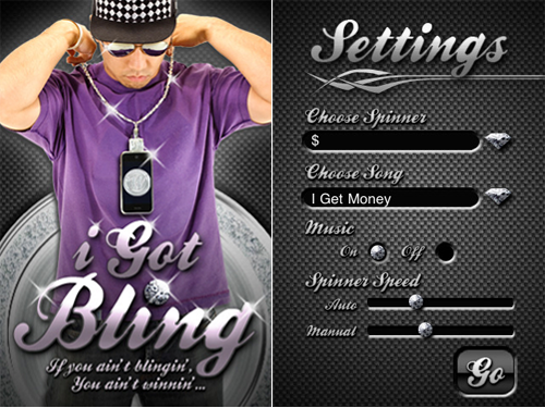 Rock Your iPhone Or iPod Touch As Bling With iGotBling