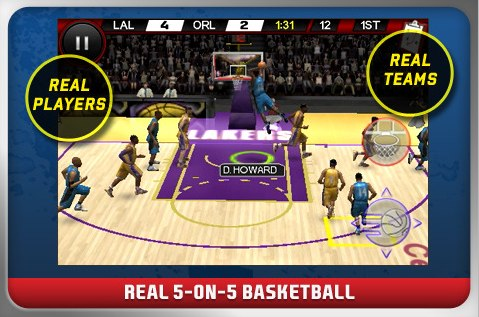 NBA Live By EA Sports Hits The App Store