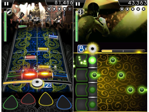 Take Your iPhone On Tour With Rock Band (Updated)