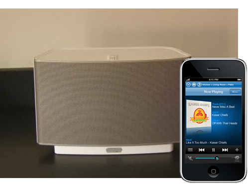 Sonos Introduces ZonePlayer S5, An All-In-One iPhone Controlled Music System