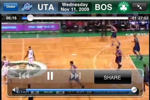 Review: NBA League Pass Mobile