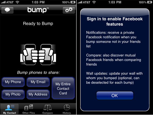 Want To Bump An Android? Bump Gets Updated And Goes Cross-Platform