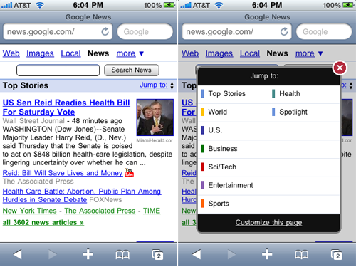 Google Announces New Google News For Mobile