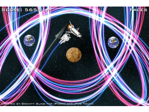 Sling Astronauts Through Space In Gravity Sling - Available For Free With In-App Purchase