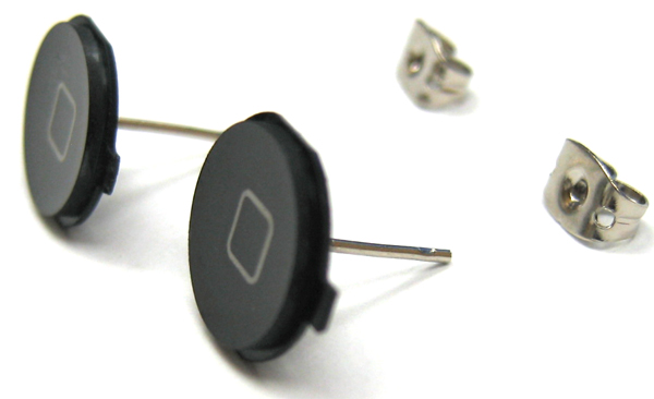 Treat Your (Geeky) Significant Other With The iPhone Earrings