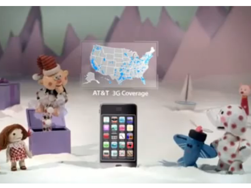 AT&T Adds 'Island Of Misfit Toys' Ads To Its Map Lawsuit