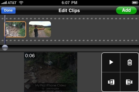how to cut and edit videos on iphone