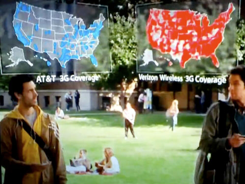 AT&T Sues Verizon For False Advertising Over 'There's A Map For That' Ads