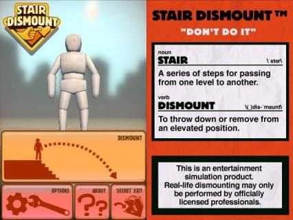Sneak Peek: Stair Dismount - From the Developers of Zen Bound