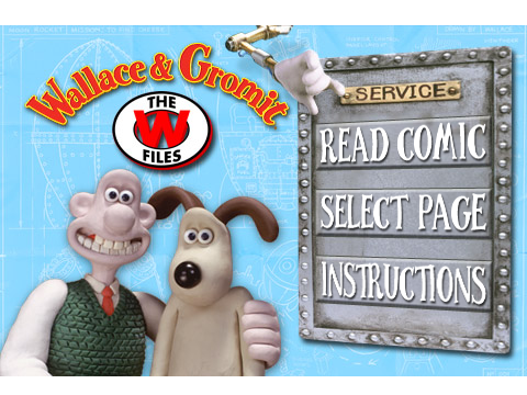 Wallace And Gromit Go Digital, First Comic Available For Free