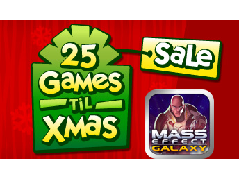 Today's EA 25 Games 'Til Xmas Sale Deal: Mass Effect Galaxy